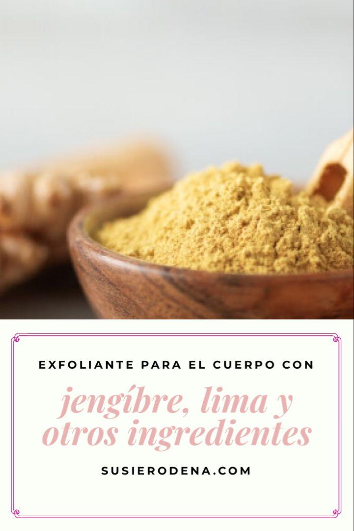 Con jengibre, lima y otros ingredientes #recetascaseras #exfoliante #corporal #jengibre Lima, Breakfast, Food, Homemade Scrub, Homemade Recipe, Recipes, Homemade Body Scrubs, Beauty Hacks, Natural Remedies