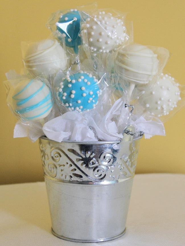 Vanilla Cake Pop Bouquet | Yummy and Sweet | Pinterest