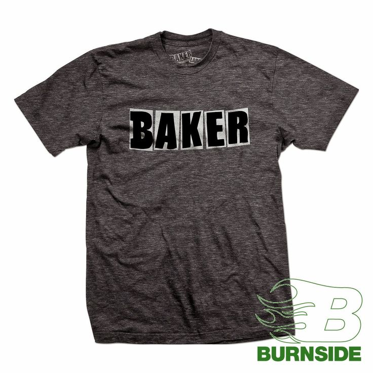 BAKER LOGO T-Shirt charcoal heather  brought2U-find your favourite products