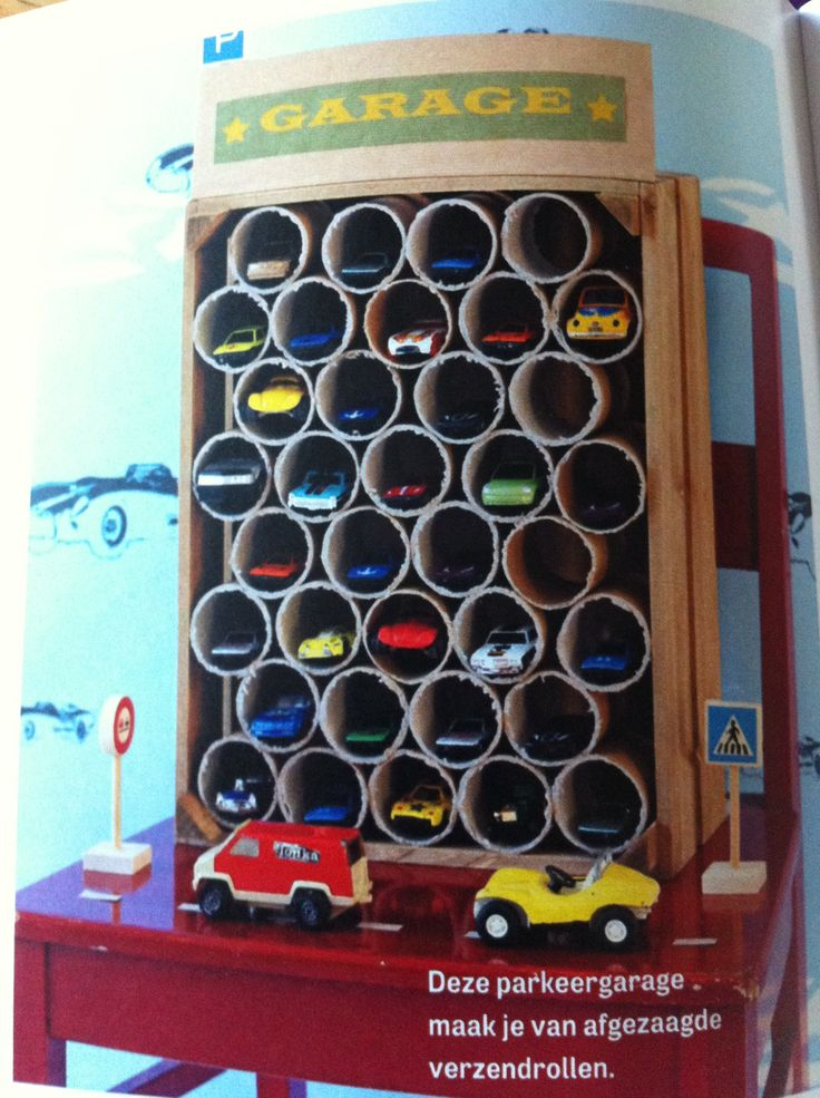 Storage for toy cars