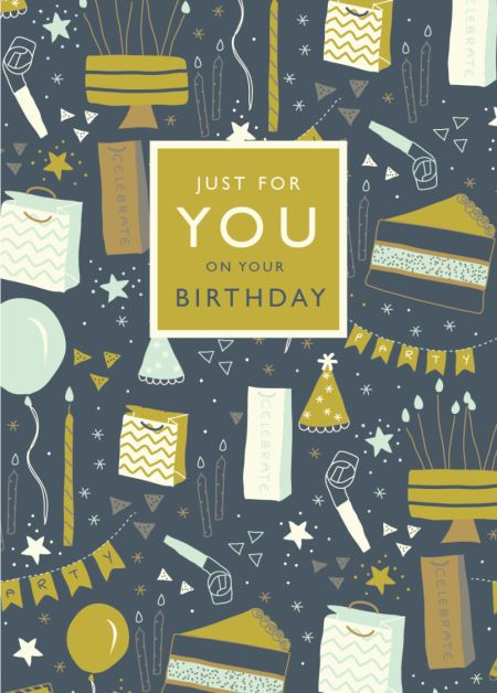 Rebecca Prinn - RP Birthday Icons 1 Greeting Card