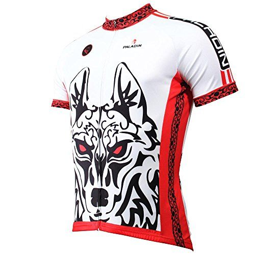 Solightbike Direwolf Mens Cycling Clothing Short Sleeve Breathable Novelty Cycling Jersey Summer Bike Shirts *** Visit the image link more details. Note:It is affiliate link to Amazon.