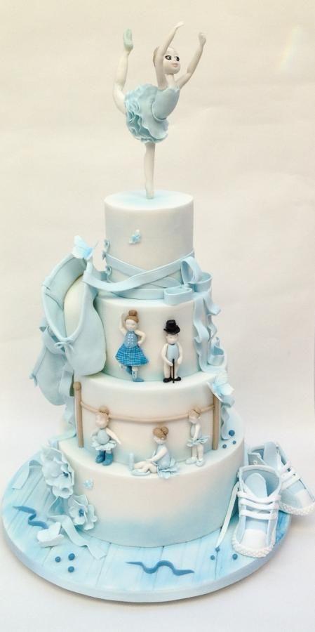 Best Ballerina Cakes Images On Pinterest Ballerina Cakes - Ballet birthday cake