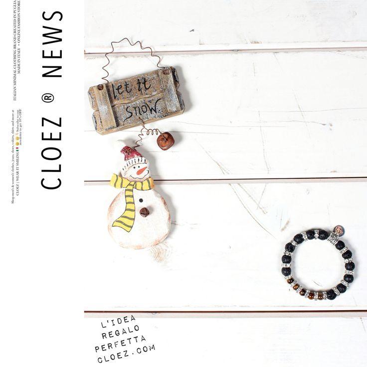 L'idea perfetta per questo #Natale per lui o per lei sono i bracciali unisex @yesring9 creati a mano in Italia con pietre autentiche e 100% nichel free. Disponibili in tantissime varianti S-M, ora online su cloez.com  ____ #woman #man #christmastime #gift #accessories #fashion #christmas #art #newarrivals #musthave #cloez #yesring9 #wearitsmiling #style #white #newin #clothing #shopping #present #cool  ____ Spedizione gratuita in Italia ⋅ Reso sempre gratuito. ____ Link e-shop in bio!