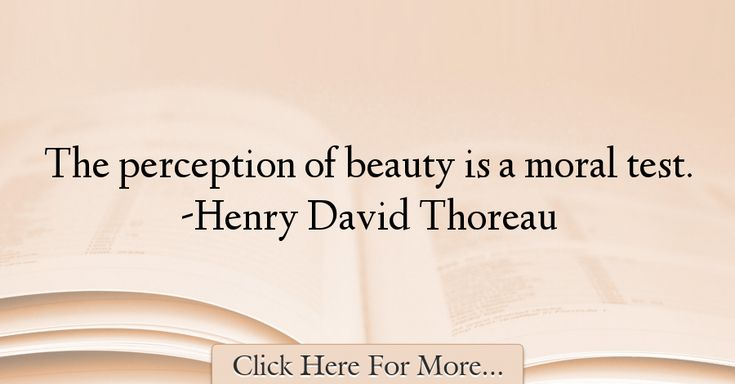 Henry David Thoreau Quotes About Beauty - 5277