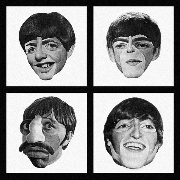 The Beatles by Patrick Seymour, via Behance: Art Photography Design, Art Design, The Beatles, Art Illustration Drawings, Beloved Beatles, Beatles Shudder, Behance Cameo