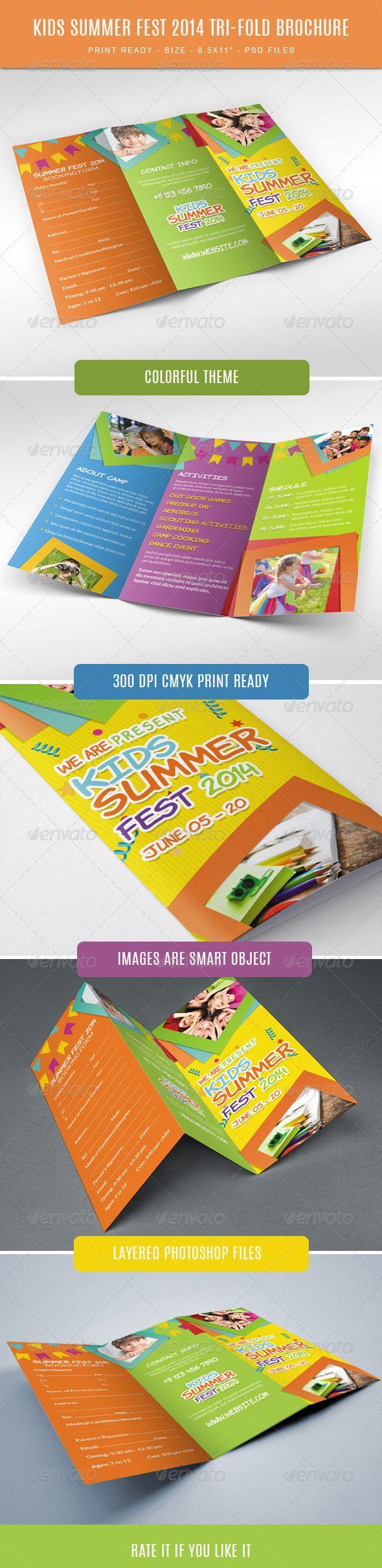 11 best design for kids images on pinterest brochure template
