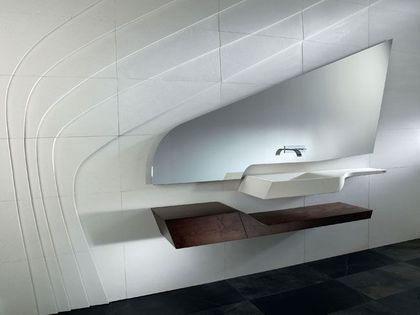 Une salle de bains à l'esprit noble