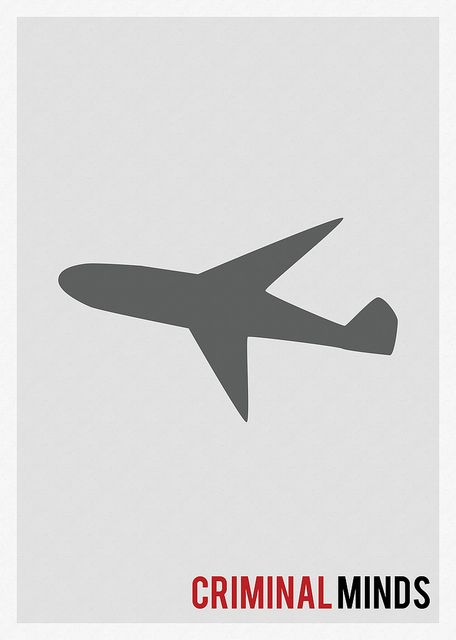 criminal minds Minimalist TV Show Poster by Marisa Passos, via Flickr <---- where's the quote!? Lol