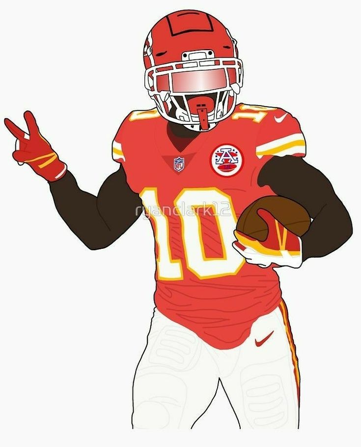 Tyreek Hill Nfl football wallpaper, Kansas city chiefs