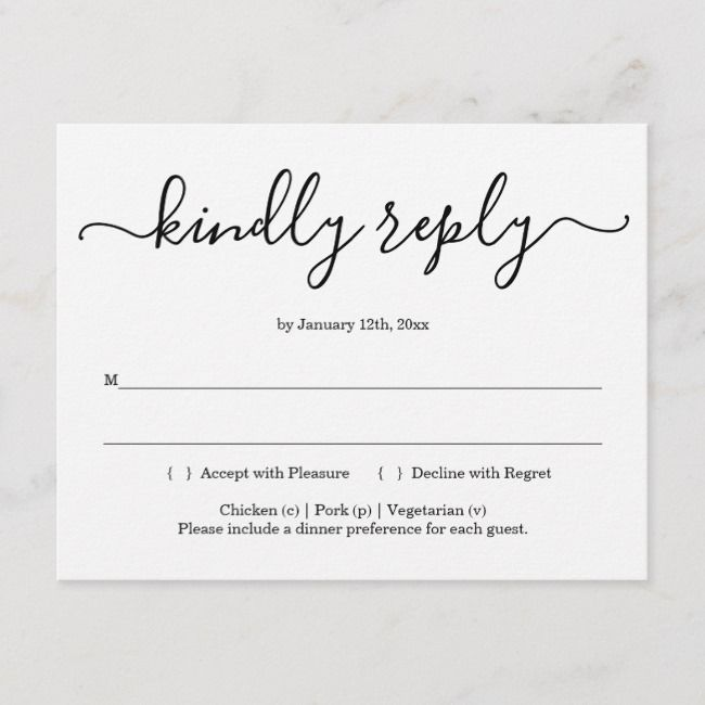 Create Your Own Invitation Postcard Zazzle Com Rsvp Postcard Wedding Rsvp Postcard Postcard Format