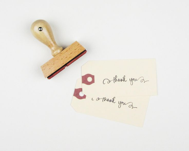 Calligraphy Thank You Stamp - rubber stamp - hand lettered thank you stamp with scrolls - thanks stamp - ready to ship - k0017 by papersushi on Etsy https://www.etsy.com/ca/listing/99016111/calligraphy-thank-you-stamp-rubber-stamp