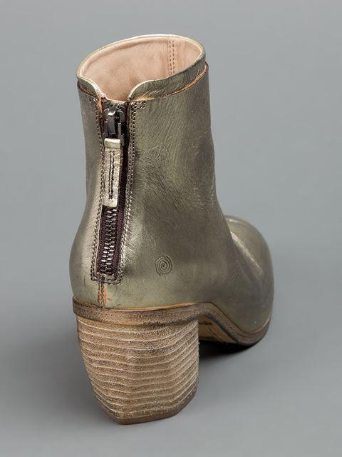 Marsèll Cuban Heel Ankle Boot -  L'eclaireur - (my favorite shop in Paris)