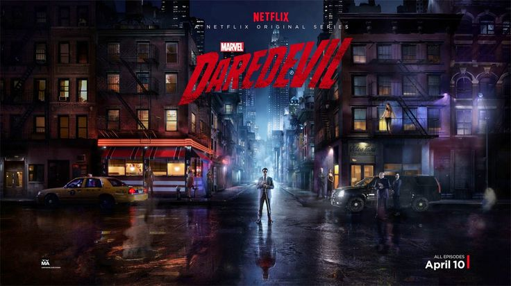 Marvel's Daredevil Character Television Poster Set