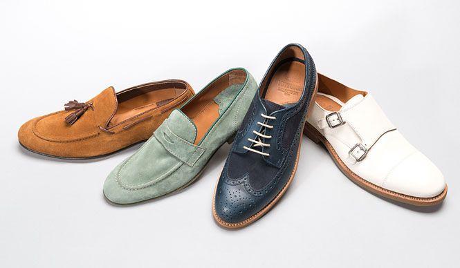イセタンメンズの2015年春シーズンで注目したい靴ブランドが、1877年の創業から現在もスペイン・マヨルカ島インカで、4代目が伝統を継承しているブランド「Lottusse(ロトゥセ)」。地中海生まれらしい開放感を感じさせてくれる色とデザイン