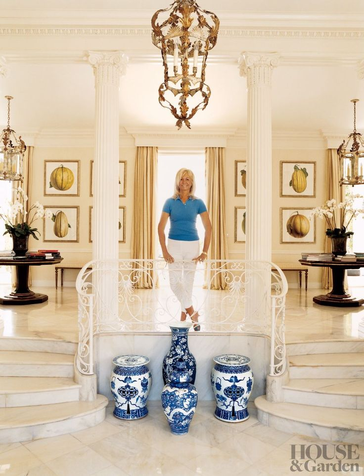 Traditional entrance hall by bunny williams inc and for Williams interior designs inc