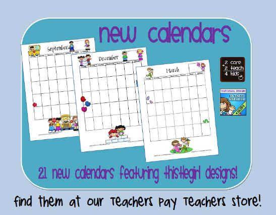 Calendar Ideas For Teachers : Best calendar images on pinterest free