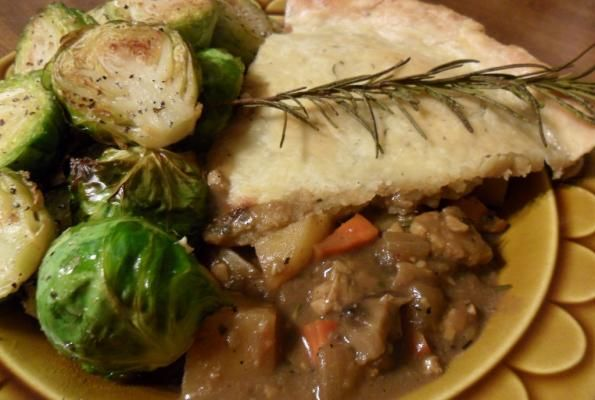 """Steak"" and Stout Pie 