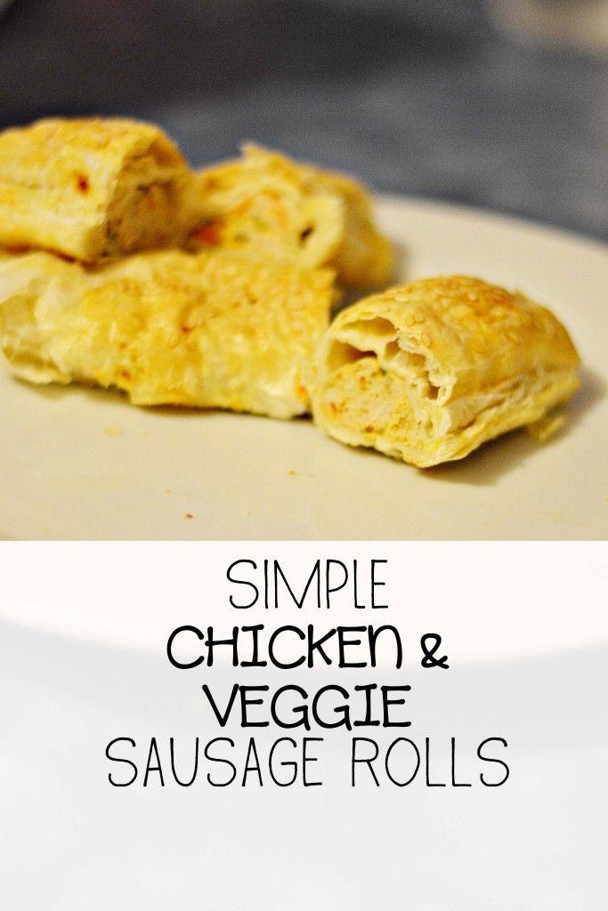 Chicken & Veggie Sausage Rolls