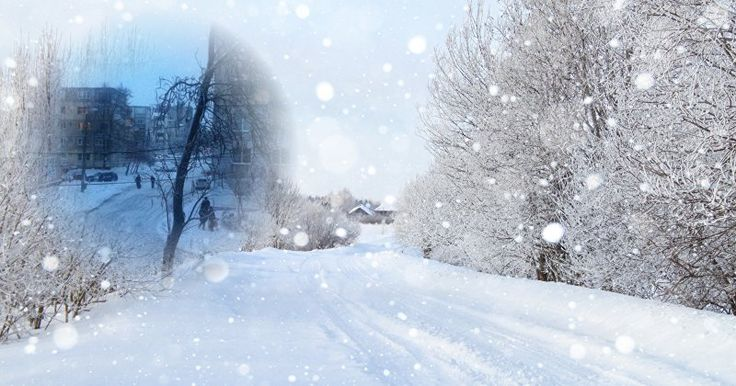 Creează-ți propria carte poștală de iarnă!