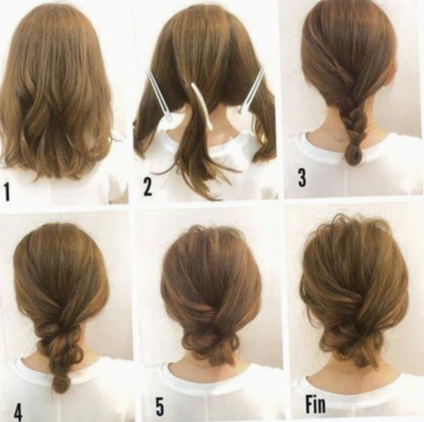 Pin By Josie On For Me In 2020 Medium Hair Styles Updos For Medium Length Hair Short Hair Updo