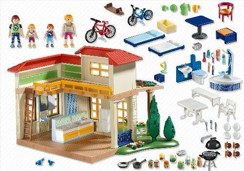 Playmobil - 4857 - Jeu de construction - Maison de campagne: Amazon.fr: Jeux et Jouets