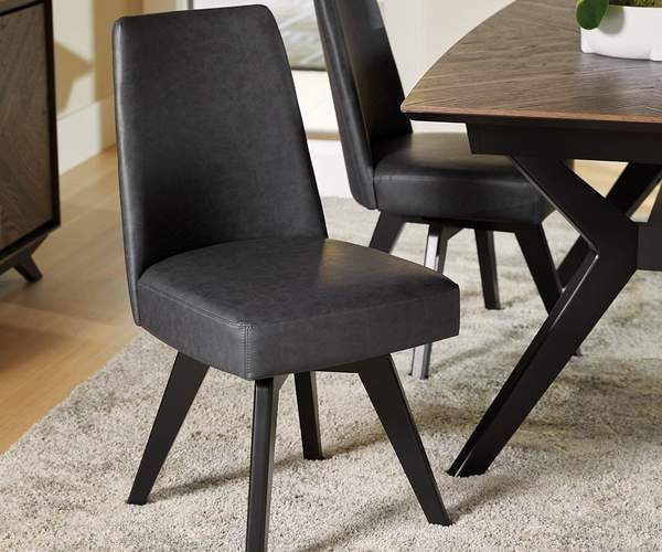 Raynor Swivel Dining Chair In 2020 Swivel Dining Chairs Dining