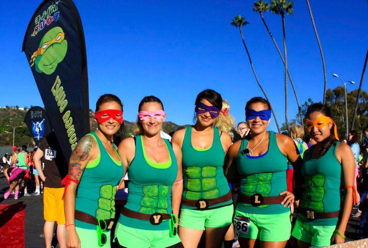 Ninja Turtles - www.Awesome80sRun.com Best Running Costumes