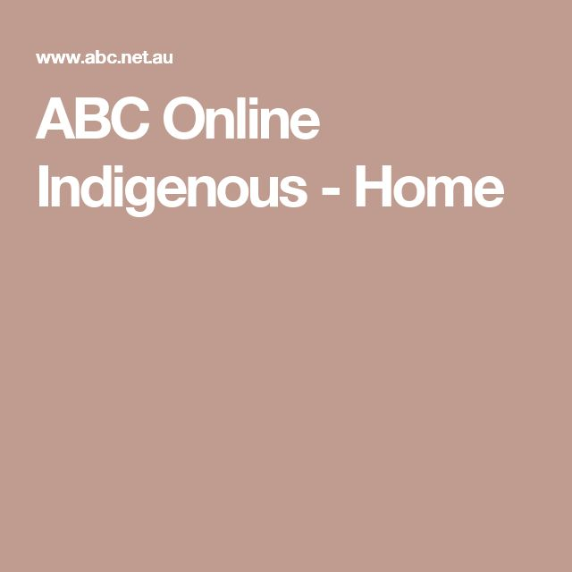 ABC Online Indigenous - Home