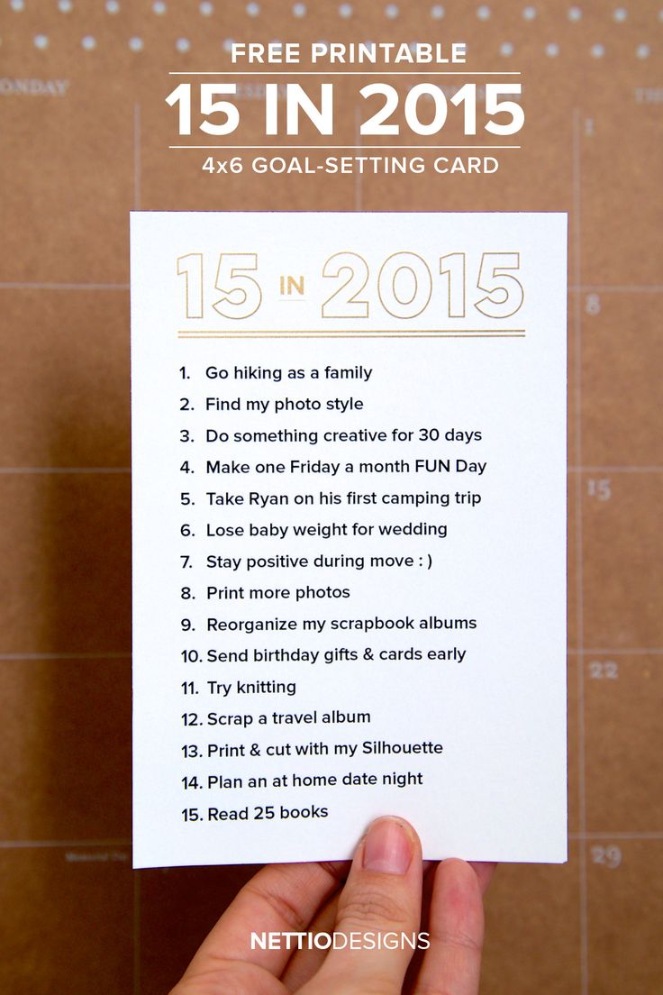 2015 GOAL SETTING & THOUGHTS ON LAST YEAR (PLUS A FREE PRINTABLE!) by  NettioDesigns