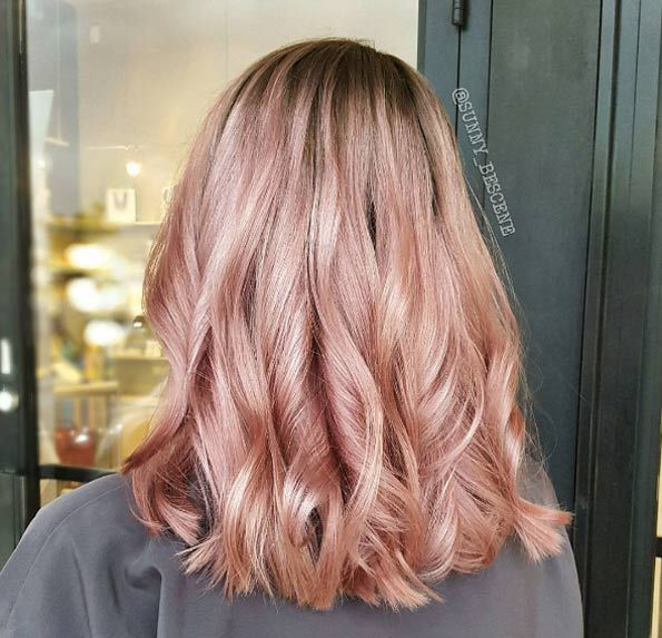 40 Trendy Rose Gold Hair Color Ideas – Beauty