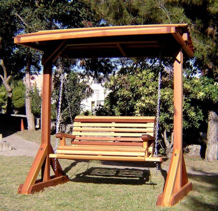 21 best images about backyard swing on pinterest diy swing backyards and outdoor swings - Arbor bench plans set ...