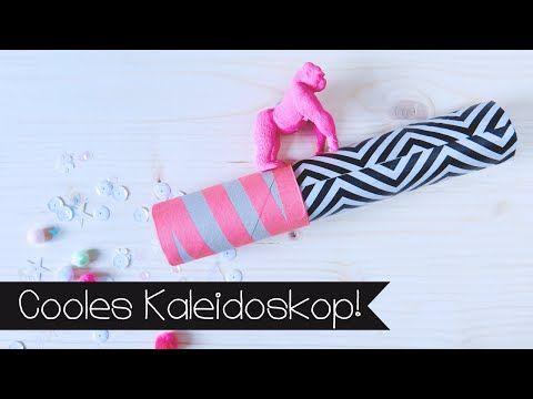 Basteln: ein Kaleidoskop selber basteln - Ideen zum basteln - YouTube