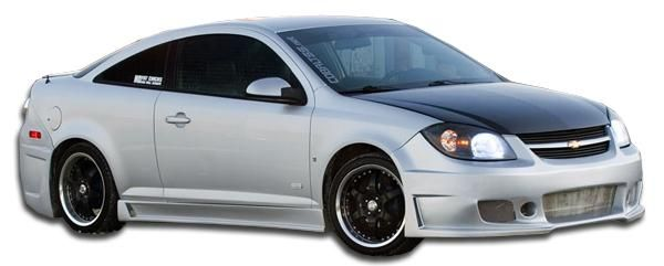 2005-2010 Chevrolet Cobalt 2007-2010 Pontiac 2DR G5 Duraflex B-2 Side Skirts Rocker Panels - 2 Piece