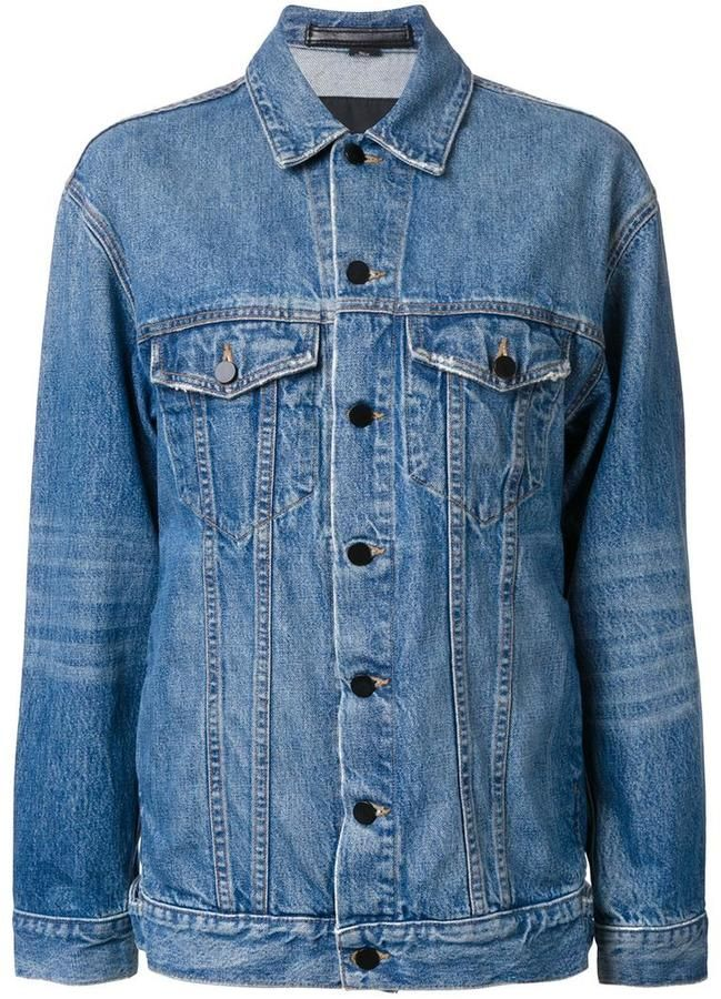 T By Alexander Wang denim jacket