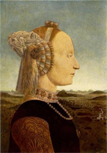 Portrait of Battista Sforza - Piero della Francesca