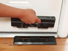 OnGARD Security Door Brace - AWESOME extra security for a door!
