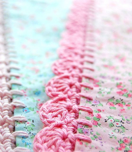 love pink and aqua!…. by rose hip… on Flickr.