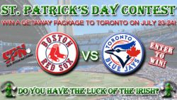♣ St Patrick's Day Contest ♧ - Win a Red Sox Blue Jays Getaway Package | SPN National