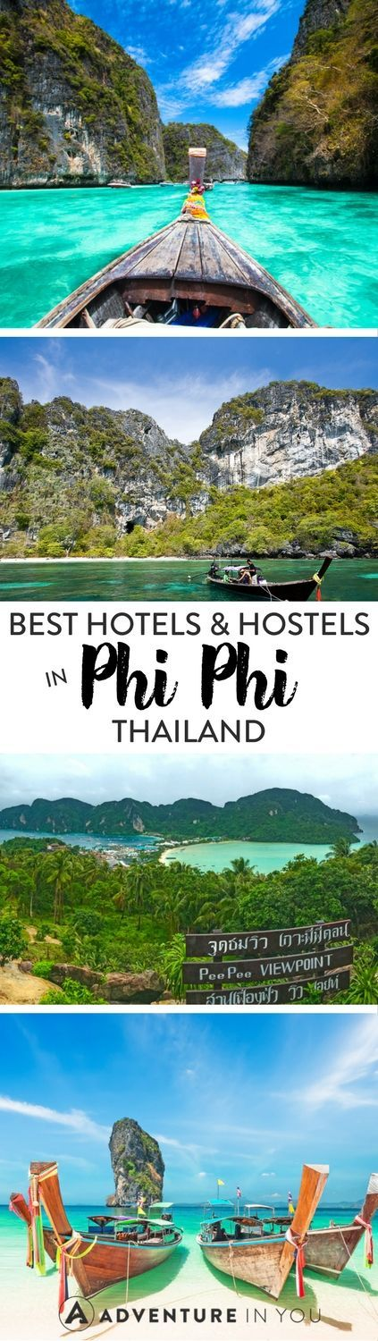 Koh Phi Phi, Thailand | Wondering where to stay in the beautiful island of Koh Phi Phi? Check out our top picks from budget hostels to luxurious splurges that won't break the bank.