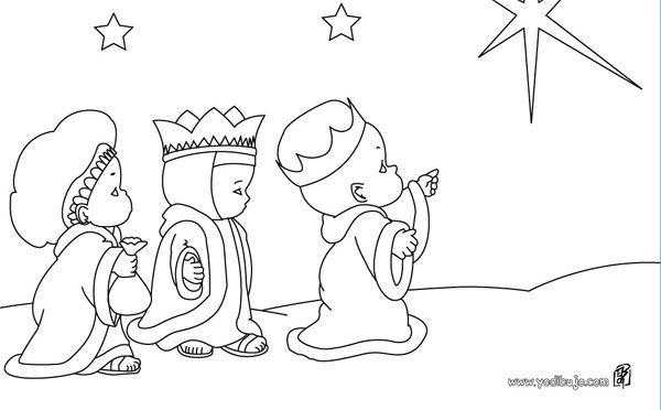 10 Dibujos De Los Reyes Magos Para Colorear Gratis Pequeocio Rey Mago Colorear Gratis Dibujos