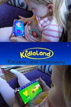 KidloLand App - Review and Giveaway - a fab nursery rhyme app perfect for the under 5's teaching them all about letters, numbers and even vehicles
