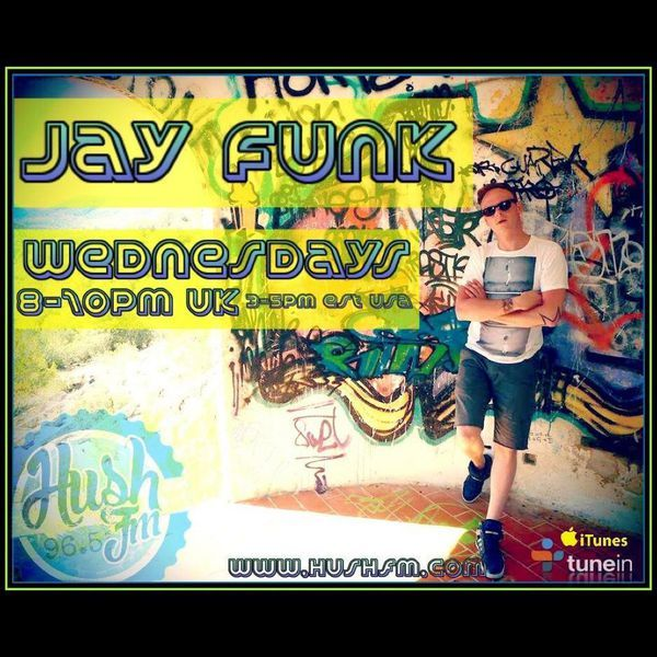 """Check out """"Jay Funk - Live on Hush FM - Upfront House & Garage promos show 61 - 19/4/17 ( W/Chat )"""" by Jay Funk  aka  Rawkus Noise! on Mixcloud"""