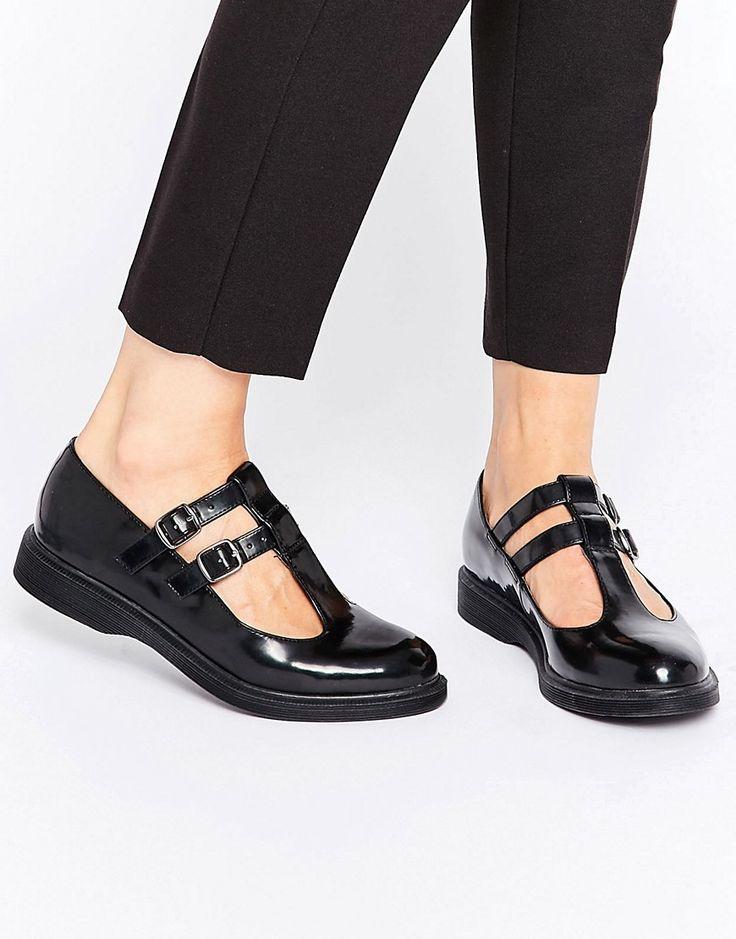 Image 1 Of New Look Patent T Bar Shoe Shoeswomen S