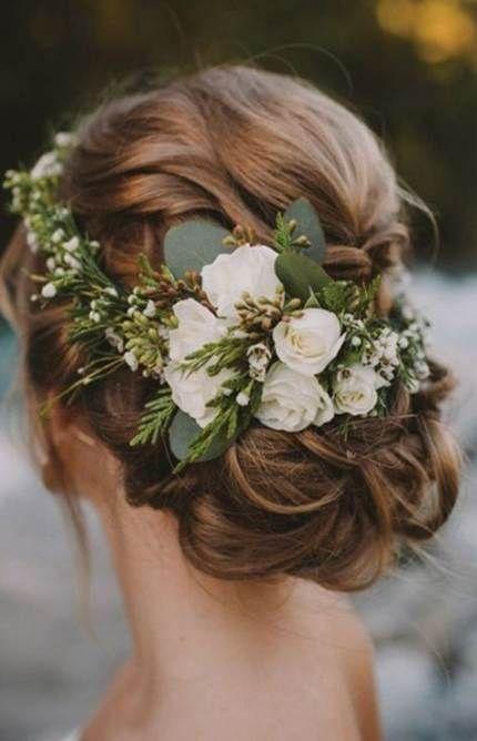 Hairstyles bridesmaid simple flower crowns 52 Ideas