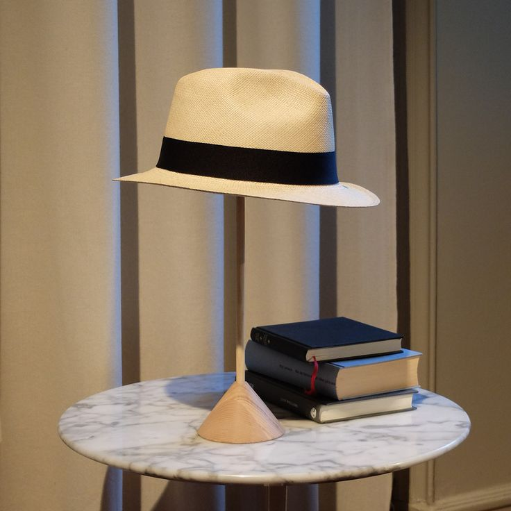 Panama, designed by Claesson Koivisto Rune for Smaller Objects. A hat rest where your hats finally get the exposure they deserve.