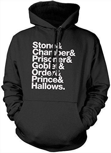 Stone, Chamber, Prisoner, Goblet, Order, Prince, Hallows Hoodie - Black, Small Harry Potter Tshirt Dealthy hallows Tee Pottermore Harry potter world Half Blood Prince Goblet of fire harry potter merchandise Gryffindor Slytherin Hufflepuff Ravenclaw Quidditch Hoody HotScamp http://www.amazon.co.uk/dp/B00SYIG388/ref=cm_sw_r_pi_dp_r5Fuwb0106KTQ