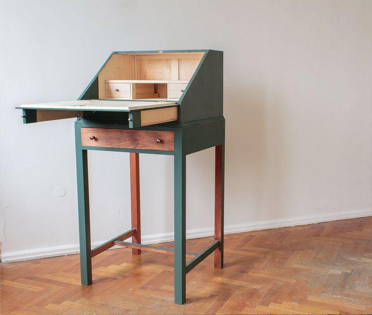 die besten 25 stehpult ideen auf pinterest diy computer schreibtisch kleiner schreibtisch. Black Bedroom Furniture Sets. Home Design Ideas