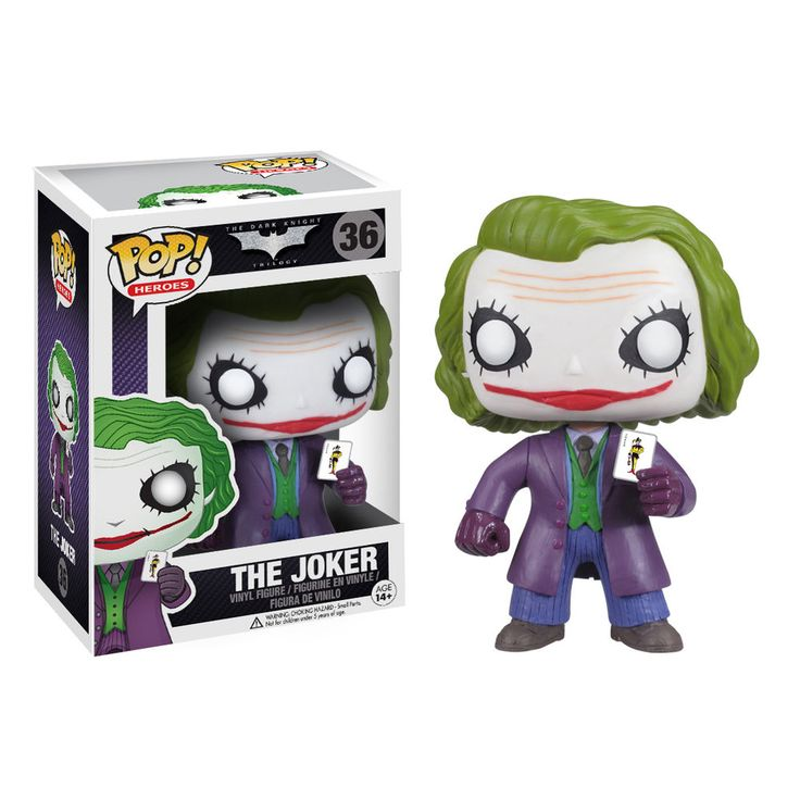 FUNKO POP! BATMAN EL CABALLERO OSCURO JOKER HEATH LEGER