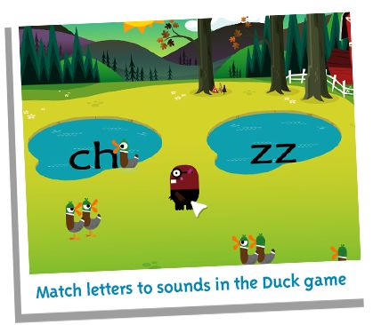 The groundbreaking reading and phonics game.